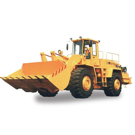 Designed for mechanization of loading works in open pits, at railway stations and other factories during loading of bulk loads...