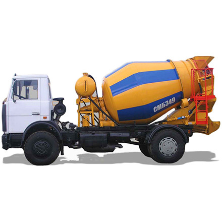 Designed for for reception of components, preparation of concrete mixture or transportation of ready-mixed mixture to the object of concretingand unloading...