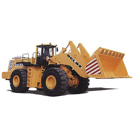 Designed for mechanization of loading works in open pits, at railway stations and other factories during loading of bulk loads (crushed stone, sand, gravel, rocks, soils, etc.)...